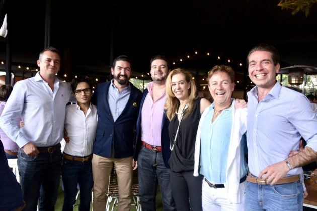 Roy Loribal, Diego Valenco, Rafael Tovar López Portillo, Gerardo, Jessica Volin, Helio Fajardo y Eduardo Magaña