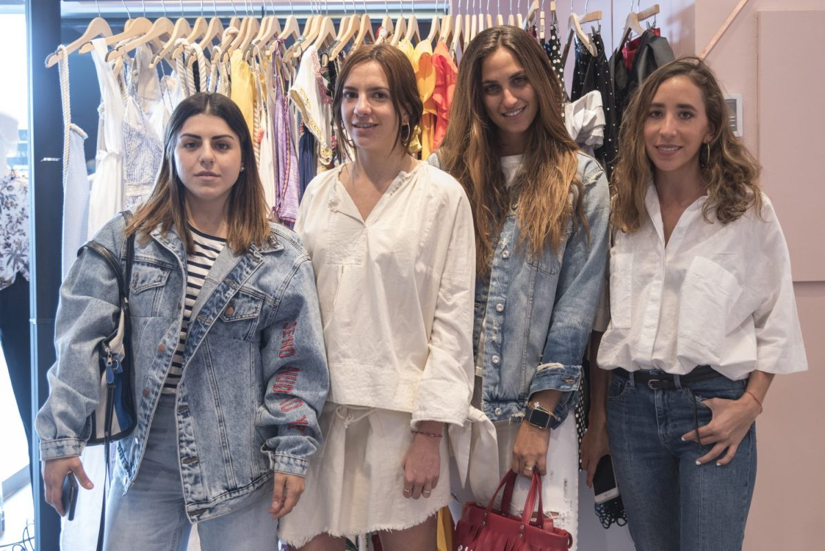 Nicole Helfone, Mariágeles Reygadas, Sofía Sacar y Mónica de la borbolla