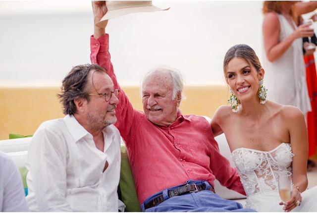 Luisa Fernanda Gonzalez y Filippo Brignone
