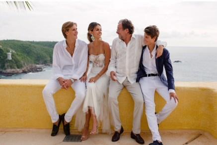 Rocco Brignone, Luisa Fernanda Gonzalez y Filippo Brignone