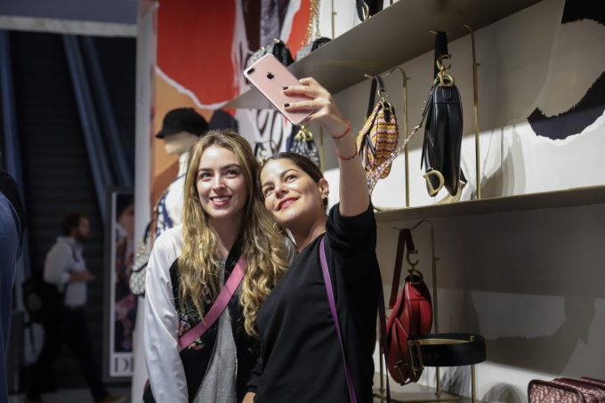 Evento Dior, 5 septiembre 2018, Palacio de Hierro Polanco