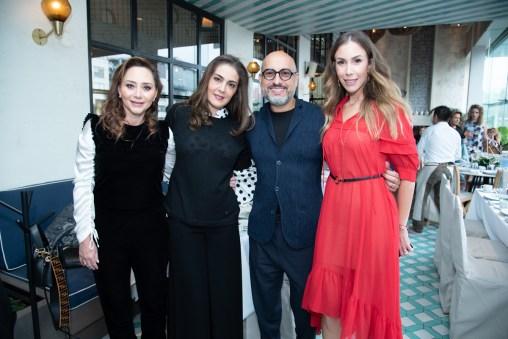 Louedes Zalazár, Blanca Nazer, Ángel Sánchez, Brenda Jaet
