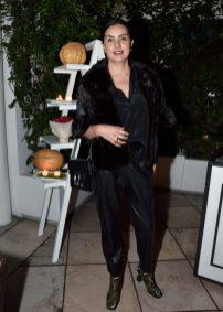 EVENTO: Cena de Accion de Gracias en el Hotel Condesa DF, Roma, 22 de Noviembre de 2018, Fotos. Veronica Gardu–o Soto. Pie de Foto: Arantxa Carballo