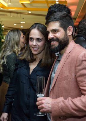 Evento: Inauguraci—n de La Fabrica en Palacio de hierro Santa Fe. 28 de Noviembre 2018. Fotos: Ver—nica Gardu–o Soto. Pie de Foto: Maricarmen Barriga y Raœl Victoria.