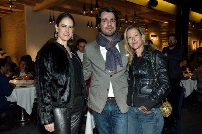REST NOSTOS, Pie de Foto: Georgina Ferrer, David Bernardo y Sophie Simone.