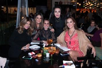 Laila Zuccar, Jaqueline Magno, Inés Vaca, Paty SAlinas, Verónica del Castillo
