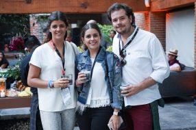 230219 Fiesta de Clausura PGA, Club de Golf Chapultepec. Andrea y Carmen Suinaga con Santiago Cortina Medios : Rsvp, Quien Fotos : Heptor Arjona