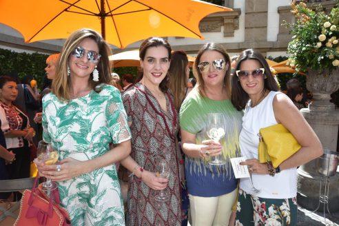 Ana Paulina Lopez, Mercedes Arnais, LAura Careaga y Mise Aspe