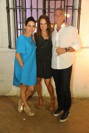 Daniela Roel, Virna Winckelmann, Alejandro Bolin