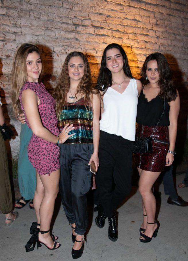 María Mouriño, María Puente, Natasha Schroeder, Mónica Vacilo