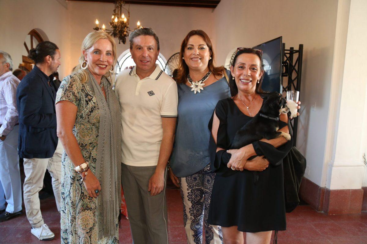 Gabriela Campos, Rafael Micha,Rosia Cordero, Karen Dana