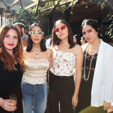 Ayra Hevia, Gladys Vega, Regina Vega, Priscila Estrada
