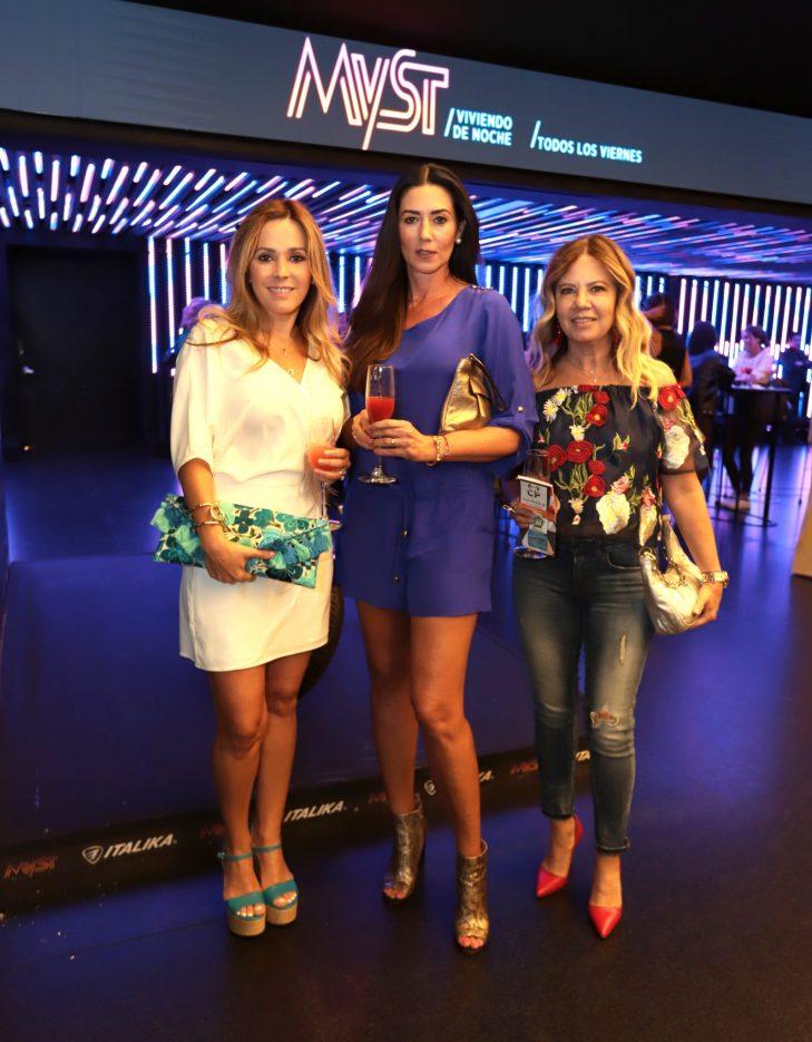 Sara Uscanga, Cristina Ascencio, Mónica Mcbeath