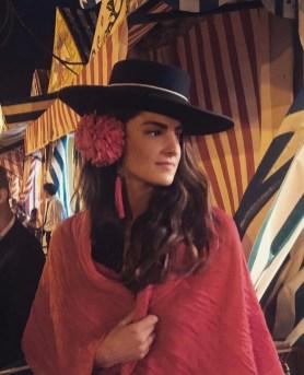 Las mujeres también usan sombrero jerezano. Daniela Corverajpg