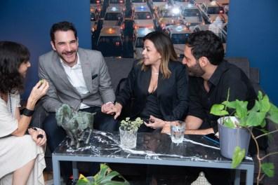 Patricia Ramírez, Juan Acevedo, Fanny Carrillo, Guillermo Scaip