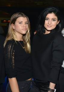WEST HOLLYWOOD, CA - AUGUST 06: Sofia Richie and Kylie Jenner attend The Imagine Ball held at House of Blues Sunset Strip on August 6, 2014 in West Hollywood, California. (Photo by Araya Diaz/Getty Images)