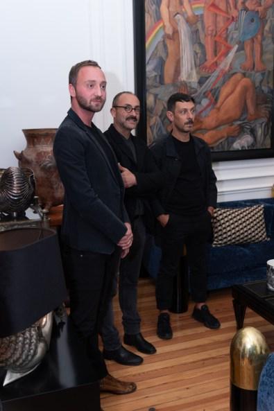 Martín Michaelis, Rafael Rivera, Javier Claverie
