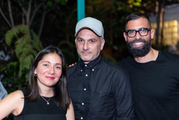 Gabriela López, Charles de Liste, Sam Bigio