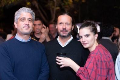 Gabriel Gómez Mortón, Eduardo Prieto, Natalia Valencia