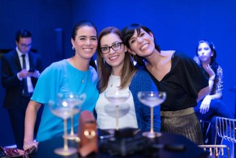 Jeniffer Moreno, Anabel Álvarez, Paola Uscanga
