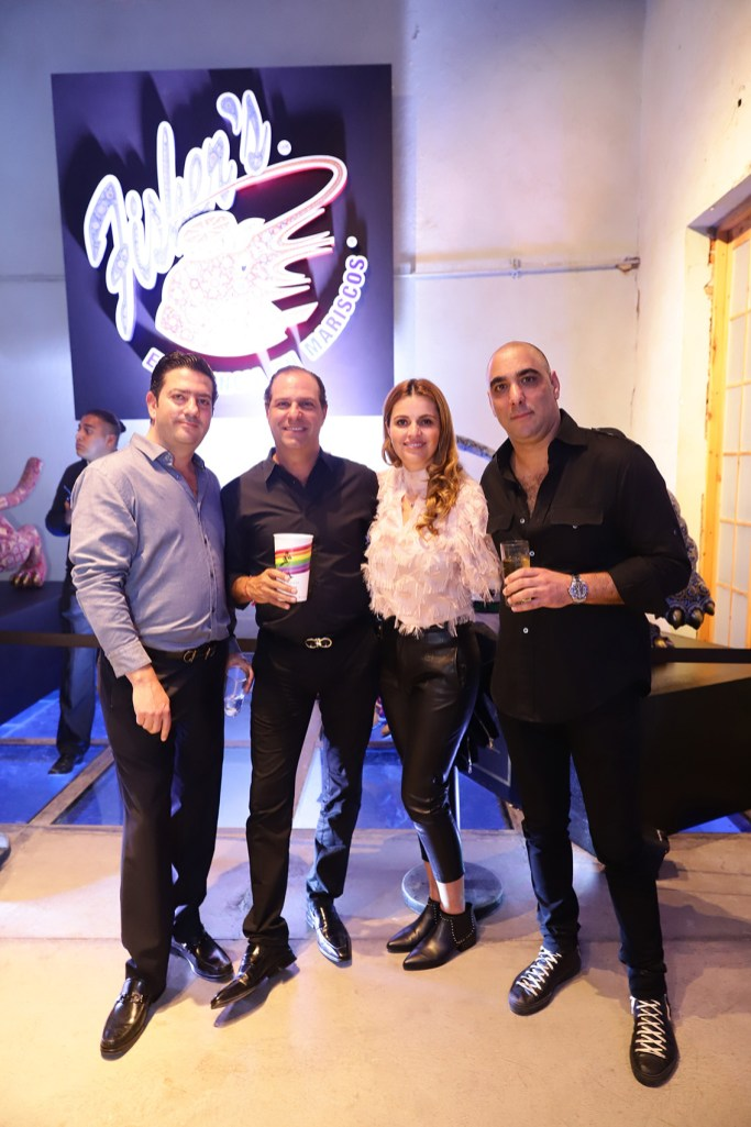 Alfredo Said, Mauricio y Alexandra Nacif y Simón Haparzumian