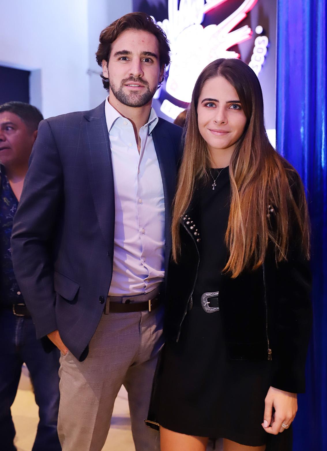 Álvaro Quintana y Daniela Compean