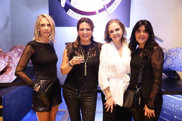 Lisi Escobar, Inés Escobar, lisi Guerra y Paula Gutierrez