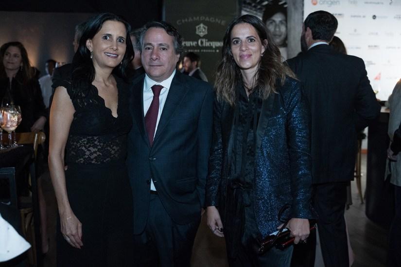 10octubre 2019. Gala 20 años Fundación Origen. Jardín Santa Fe. Lorena Muniain, Gerardo Ruíz y Lorena Avila Fotos : Héptor Arjona