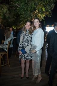 10octubre 2019. Gala 20 años Fundación Origen. Jardín Santa Fe. Laura Laviada y Denisse Carmona Fotos : Héptor Arjona