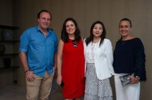 FOTO: Rodrigo Mascaretti, Juliana Pestana, Satie Kakihara e Andrea Carneiro - Brunch LuxuryLab Brasil (29/09/2019) ©2019 Samuel Chaves/S4 PHOTOPRESS