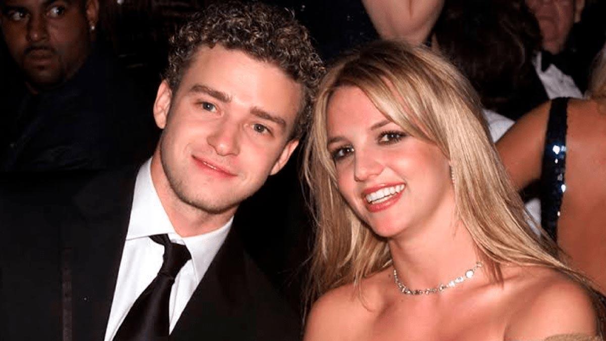Justin Timberlake y Britney Spears cuando eran novios