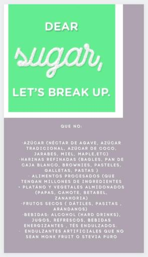 Detox Sugar