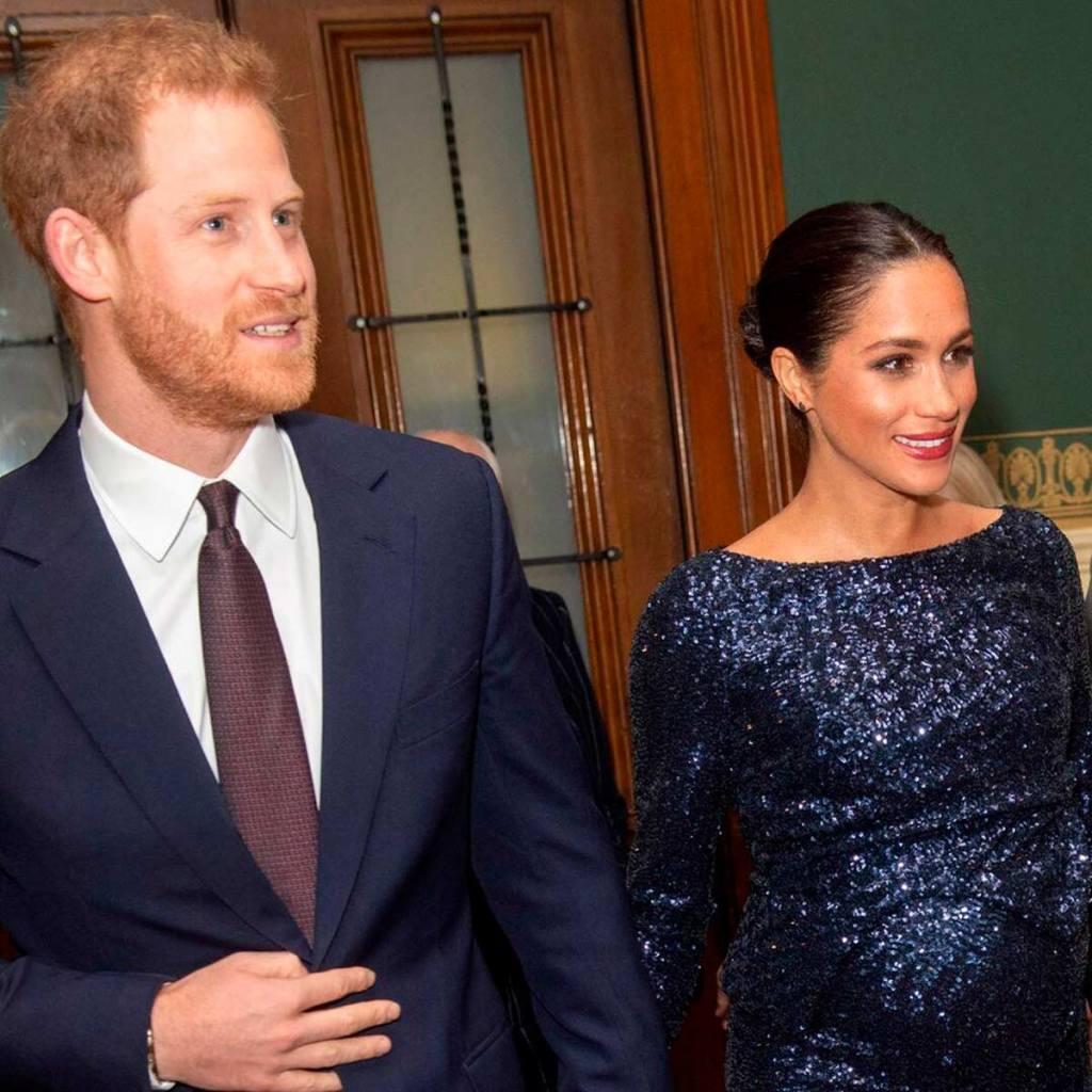 Harry y Meghan en el evento del Royal Albert Hall 2019.