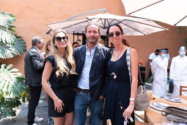 Catalina Buchanan, Eduardo Prieto y Ale Laviada