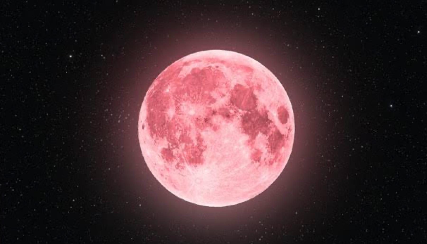 Full Pink Moon in Scorpio