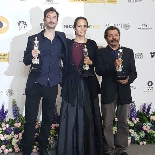 Michelle-Couttolenc-Jaime-Baksht-y-Carlos-Cortés