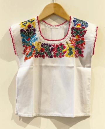 Artículos del Museo de Arte Popular: Blusa sin mangas San Antonino