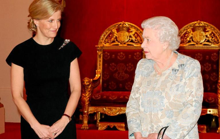 Sophie-condesa-Wessex-y-Reina-Isabel