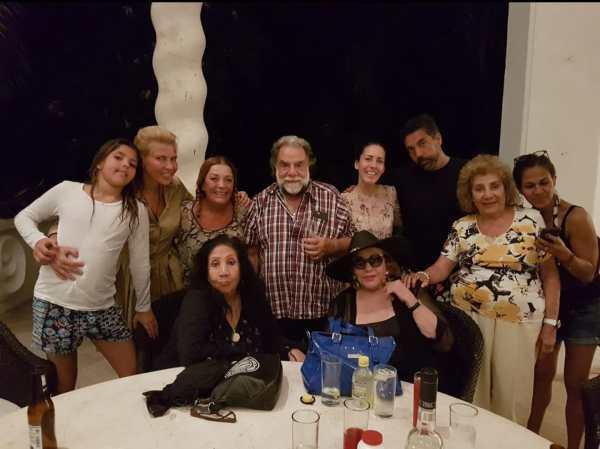 Familia en Acapulco