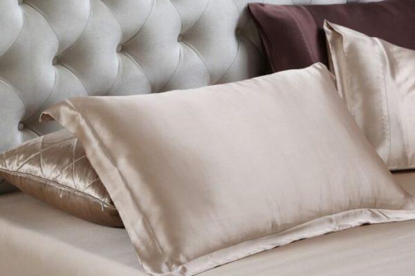 Funda de almohada de Seda