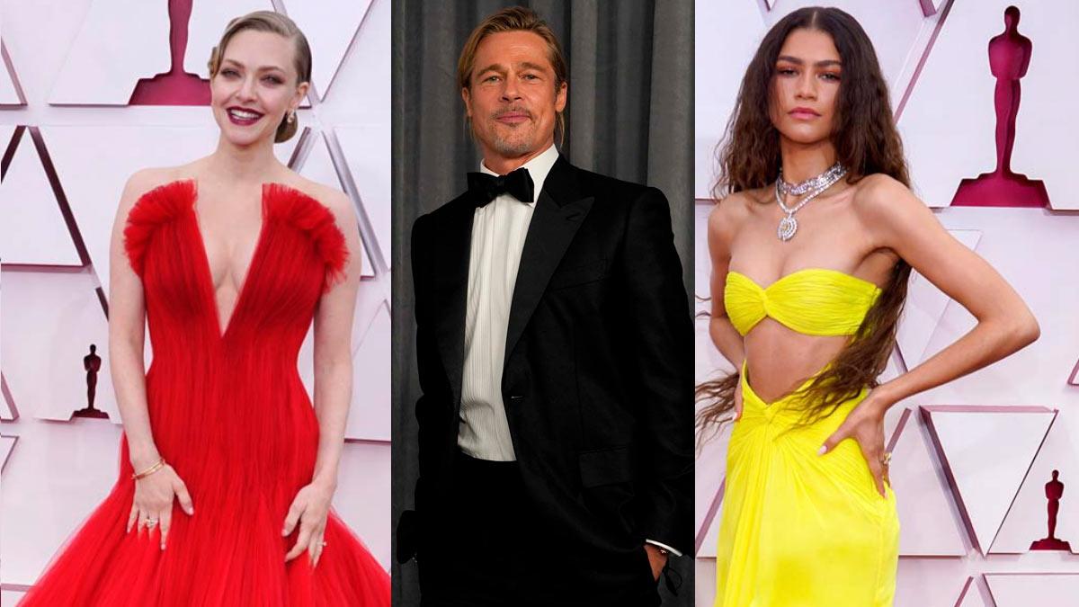 Las celebs mejor vestidas en los Oscar 2021