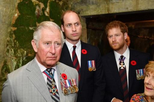 príncipe-Carlos-príncipe-William-príncipe-Harry