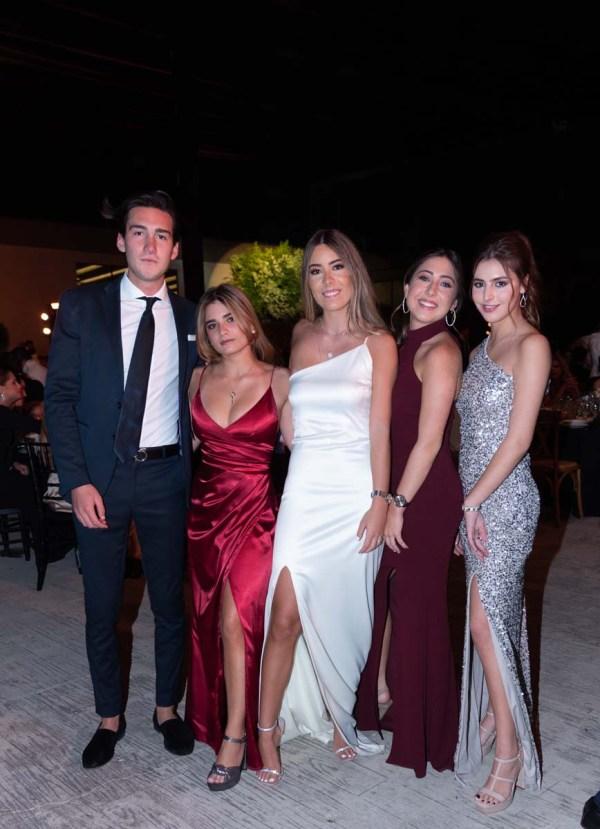 Jorge Fuentes, Victoria Carmona, Begoña Serna, Jimena Vázquez, Isabel Torres