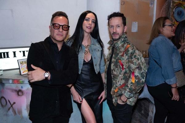 Héctor Bitar, Ariana Grand, Óscar Madrazo