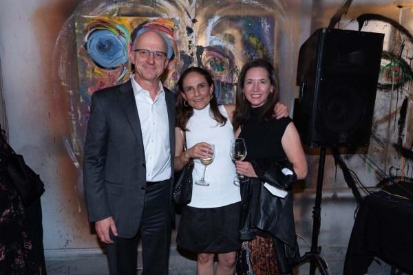 Hans Kohlsdorf, Inés Caraza, Sofía Henonin