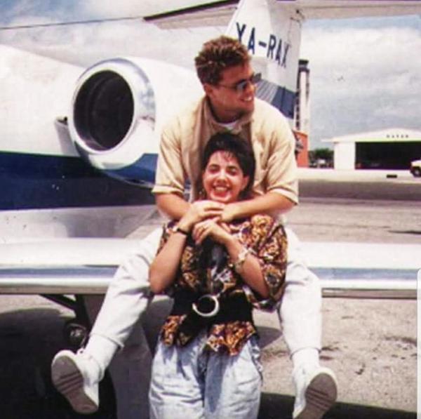 Toni Torres con Luis Miguel