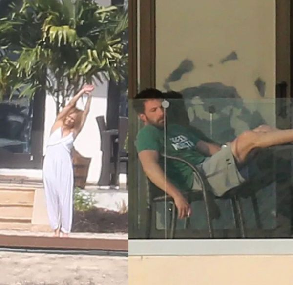Jennifer Lopez y Ben Affleck en Miami