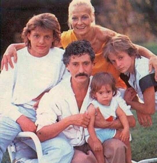 La familia Gallego Basteri