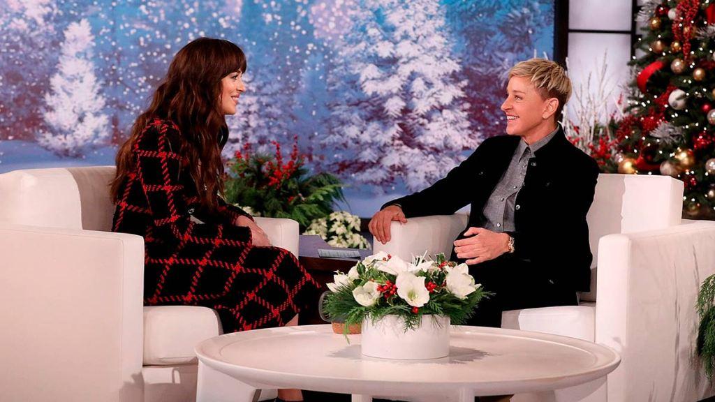 Dakota Johnson tuvo un pequeño 'roce' con Ellen DeGeneres en 2019 durante la transmisión de su programa.