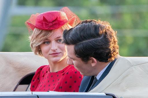 Diana y Carlos en The Crown